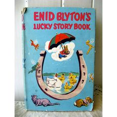 Enid Blyton's Lucky Story Book 1952 Collectible by BessieAndMaive