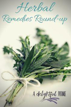 DIY Herbal Remedies Round Up
