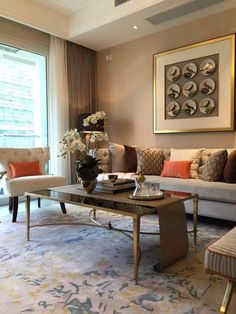 Decorate your home with style, find our biggest decor inspiration, our selection of bedroom decor, living room decor, di Home Room Design, Decor Interior Design, Interior Decorating, House Design, My Living Room, Living Room Decor, Living Spaces, Bedroom Decor, Dining Room