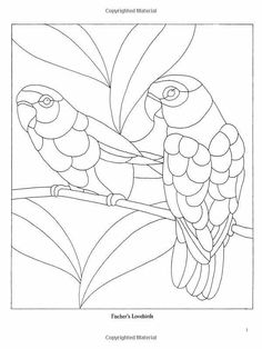 Can be done in polymer with translucent clay. Stained Glass Quilt, Stained Glass Birds, Faux Stained Glass, Stained Glass Designs, Stained Glass Projects, Stained Glass Patterns, Bird Patterns, Mosaic Patterns, Applique Patterns