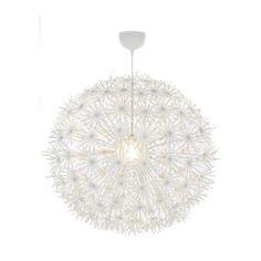 Ikea Maskros Pendant Light Paper Lamp Diameter 80 cm Dandelion Effect White