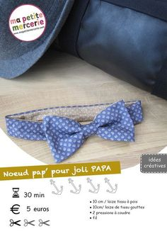Couture: diy noeud pap tuto.