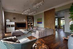 Интерьер двухуровневой квартиры - завораживает с первого взгляда