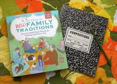 """The book of new Family traditions"" by Meg Cox - Smile & Wave"