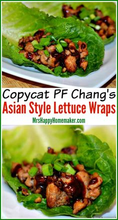 PF Chang's Asian Style Lettuce Wraps