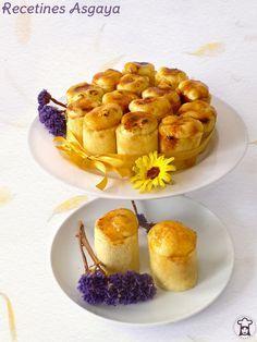 Tarta de Piononos de Santa Fé / Piononos Cake_RECETINES ASGAYA:
