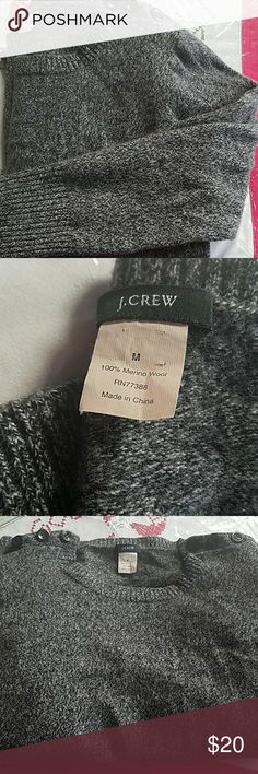 J-Crew 100% Wool Sweater 100% wool Sweater from j crew. Great condition but has been washed. Very soft and very lite pilling. J. Crew Sweaters