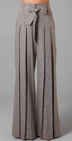 L.A.M.B. - Cross Dye Wide Leg Pants.  I want these so bad.  I love Gwen Stefani and most of her stuff