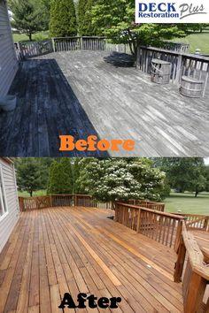 Deck Restoration Plus Everettabrams On Pinterest