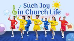 "Kids Dance | Worship Song ""Such Joy in Church Life"" 