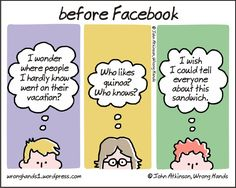 Can you imagine a life without social media now?