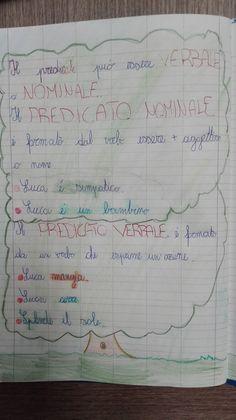 Classe Seconda- Italiano: La frase- La frase minima- Le Espansioni- Predicato Verbale e nominale (Parte prima) - Maestra Anita