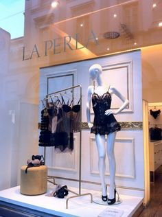 """LA PERLA,Milan,Italy,""""To create something exceptional....your mindset must be relentlessly focused on the smallest detail"""", pinned by Ton van der Veer"""