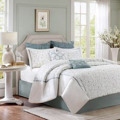 Harbor House Flourish 4-Piece Cotton Comforter Set