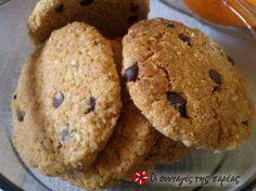 Cookies με κουάκερ #sintagespareas #cookiesmekouaker Healthy Sweets, Dessert Recipes, Desserts, Sweet Life, Cookies, Sweet Recipes, Biscuits, Muffin, Brunch