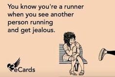 I see runners and want to run!