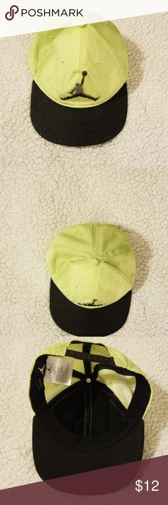 5d223e4a53d Michael Jordan hat Green Jordan hat, used un good condition Jordan  Accessories Hats