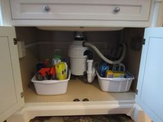 Challenge #4: Under the Kitchen Sink