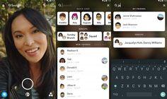 Nueva actualización de Snapchat activa el nuevo buscador universal en iOS y la beta de Android