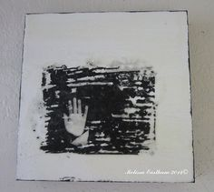 Zen's Hand by Melissa Eastham Encaustic Mixed Media Art www.encausticdreams.com