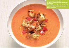Soupe de Tomates à l'ancienne.