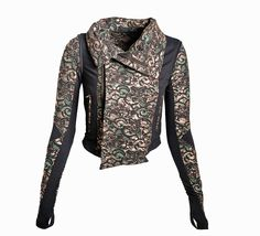THE LAYCE JETSETTER MOTO JACKET - Designer Sports Bras & Activewear for Women | BodyRockSport