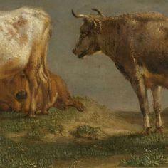 Vier koeien in de weide, Paulus Potter, 1651 - 1651 - Landscapes - Works of art - Explore the collection - Rijksmuseum