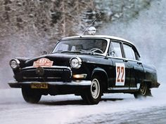 "ГАЗ 21 ""Волга"" в ралли ""Monte-Carlo"" '1964"