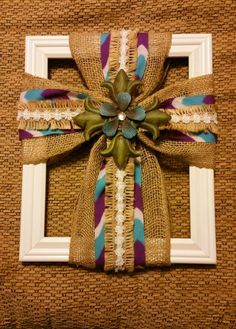 50 Best Christmas Crafts For Kids;Best Christmas Crafts for Kids, Christmas Crafts Ideas, Christmas Home Decorations Wooden Crosses, Crosses Decor, Cute Crafts, Crafts To Make, Diy Crafts, Burlap Projects, Craft Projects, Craft Ideas, Christmas Crafts For Kids