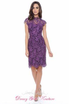 Elegant Decode 1.8 182761 #PlumDress #LaceDress #FallDress $178.00