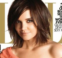 shoulder length bob with layers...
