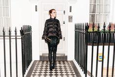 -casaco Pixie Market -saia Ebay -luvas Harrords -sapatos Christian Louboutin -bolsa Serpui Marie