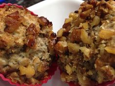 Banana Flax and Chia seed Muffins