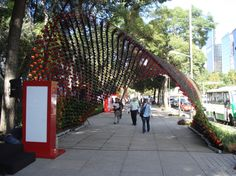 Nescafe Reforma Installation, The Tunnel - Grasshopper