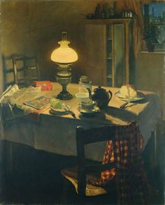 isabel codrington(1874–1943), evening, 1925. oil on canvas, 127 x 102 cm. manchester city galleries, uk http://www.bbc.co.uk/arts/yourpaintings/paintings/evening-204685