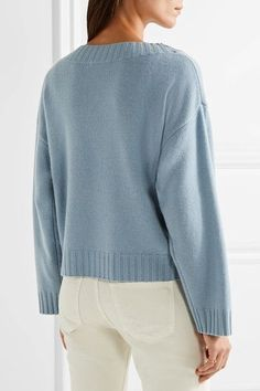 Vince - Cashmere Sweater - Sky blue - x small