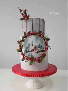 Winter is coming  - Cake by MOLI Cakes