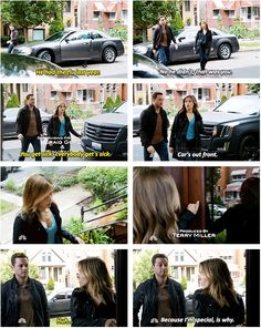 """Because I'm special, is why"" - Lindsay and Halstead. Chicago pd"
