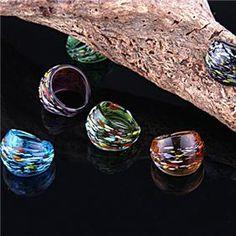 Lampwork Murano Glass Ring
