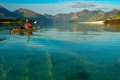 Med køye og kajakk Tromso, Lofoten, Norway, Activities, Mountains, Nature, Painting, Outdoor, Waltz Dance