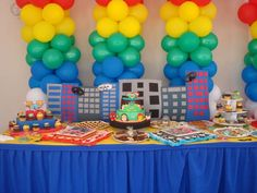 Super Hero Squad/Marvel Characters Birthday Party Ideas | Photo 2 of 15 | Catch My Party