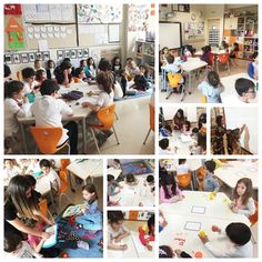 Anaokulu öğrencilerimiz 1. sınıf öğretmenleri ile ilkokula geçiş etkinliklerimiz kapsamında çeşitli eğlenceli aktiviteler yaptılar. Sınıfları gezdiler, benzerlik ve farklılıkları karşılaştırdılar. 1. sınıf öğrencilerinin derslerini izleyerek bu derslere katıldılar. 1. sınıf öğretmenlerimiz ile çeşitli ses ve matematik çalışmaları gerçekleştirerek bu süreci tamamladılar.