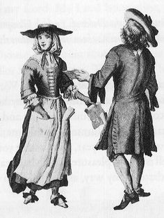 Working Class Couple, 1689. English 1689_worker_3.jpg (452×600)