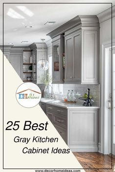 530 best gray kitchen cabinets images in 2019 rh pinterest com