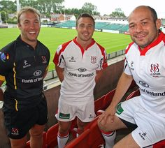 Stephen Ferris, Tomy Bowe and Rory Best, Ulster, Ireland Ulster Rugby, Irish Rugby, World Rugby, Rugby Players, Donegal, Lifestyle News, Sports News, We The People, Ireland