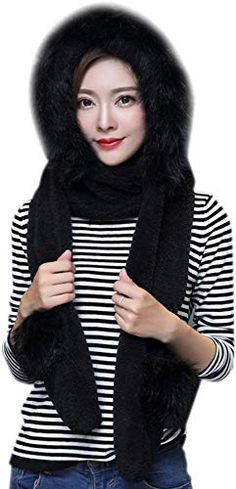 New ITODA Thick Warmer Hat Gloves Scarf Pocket, Earflap Winter Long Fleece Hoodie Women 3 1 Set Mitten Headscarf Ear Cuff Costume Cap online – Showmetopstyle - Knit Caps Kids Fleece Hoodie Women, Fleece Poncho, Fleece Gloves, Fit Over Sunglasses, Rainbow Braids, Spring Hats, Cotton Scarf, Womens Scarves, Knit Caps