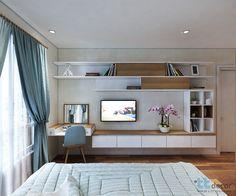 The Best 2019 Interior Design Trends - Interior Design Ideas Small Room Design Bedroom, Wardrobe Design Bedroom, Bedroom Furniture Design, Modern Bedroom Design, Home Room Design, Home Office Design, Room Decor Bedroom, Home Bedroom, Home Interior Design