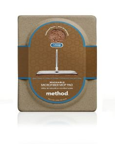 Method Omop Wood Microfiber Mop Pad - Case of 6 Packaging News, Box Packaging, Packaging Design, Clamshell Packaging, Mop Pads, Chiffon, Icecream Bar, Protective Packaging, Box Design