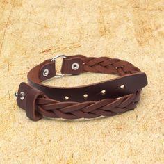 Shop Leather Bracelet | Braided Unisex Bracelet | Saddleback Leather Co.