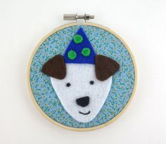 Cute dog hoop art kids room art party puppy dog by MombiAndTed Kids Room Art, Art Kids, Art Party, Etsy Uk, Dog Life, Cute Dogs, Dogs And Puppies, Hoop, Ted